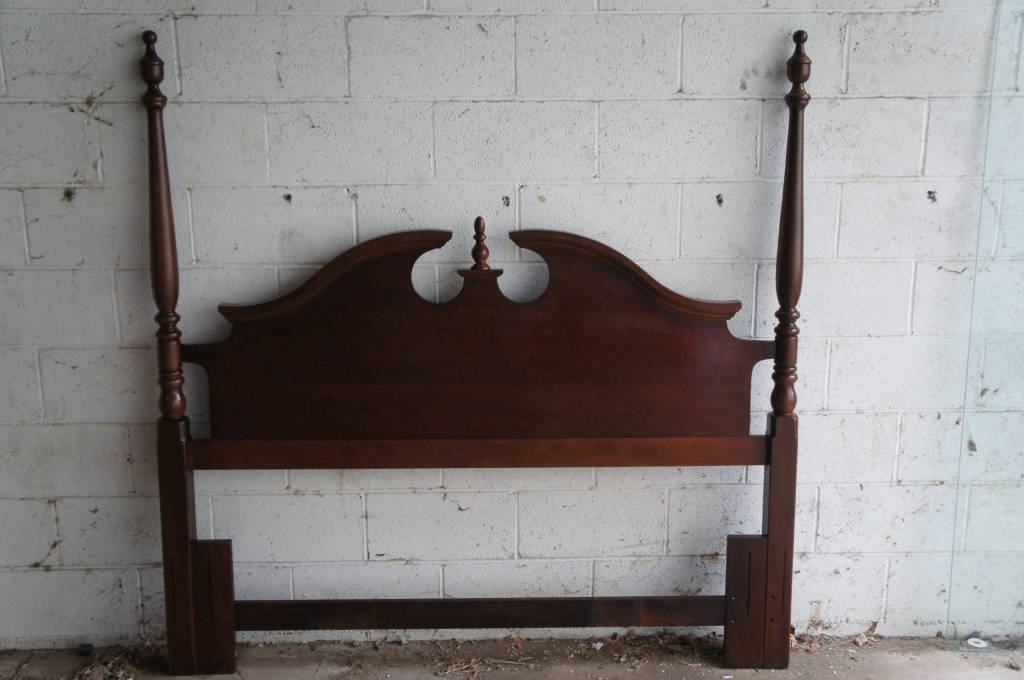 Thomasville Winston Court Cherry Headboard Queen Or Double Size Adjustable Bed