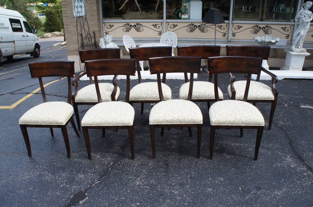 8 Stunning Baker Furniture Milling Road Dining Room Chairs ...