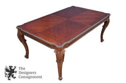 Thomasville River Roads French Country Dining Room Table 112 Mahogany 35621 752