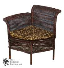 Fantastic Heywood Brothers Co Antique 19Th C Victorian Wicker Parlor Ncnpc Chair Design For Home Ncnpcorg
